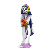 DAY OF THE DEAD Bride Catrina for Miniature Fairy Gardens