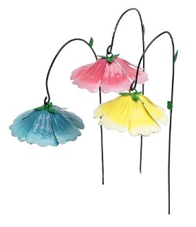 Hibiscus Umbrellas For Fairy Gardens (Options for Color Choice)