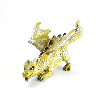 Fetching Dragon for Miniature Fairy Gardens