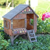 Fairy Fun House for Miniature Fairy Gardens