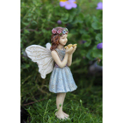 Zoe the Fairy for Miniature Fairy Gardens