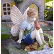 Alex the Fairy for Miniature Fairy Gardens