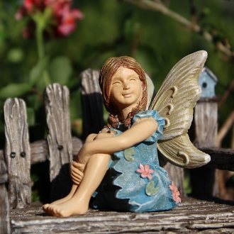 Charlotte the Fairy for Miniature Fairy Gardens