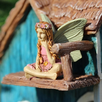 Kendall Youth Fairy for Miniature Fairy Gardens