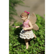 Mara the Fairy for Miniature Fairy Gardens