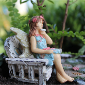 Jessa the  Fairy for Miniature Fairy Gardens