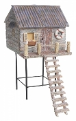 Beach House on Stilts for Miniature Fairy Gardens