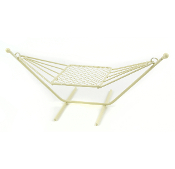 Iron Backyard Hammock for Miniature Fairy Gardens