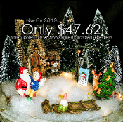 NEW! Home For The Holidays Fairy Garden Kit * SUPER SALE KIT