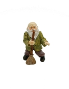 The Crooner Gnome For Miniature Fairy Gardens