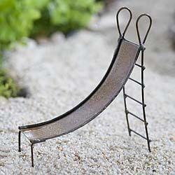 Metal Slide For Miniature Fairy Garden Playgrounds
